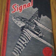 Militaria: REVISTA .. SIGNAL .. SP Nº 22 // 2 Nº DE NOVIEMBRE 1943 .. EN CASTELLANO. Lote 21461423