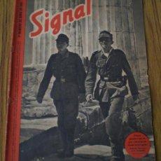 Militaria: REVISTA .. SIGNAL .. SP Nº 11 // 1 Nº DE JUNIO 1941 .. EN CASTELLANO. Lote 21461594