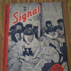 Militaria: REVISTA .. SIGNAL .. SP Nº 4 // 2º Nº DE FEBRERO 1942 .. EN ESPAÑOL. Lote 21483367