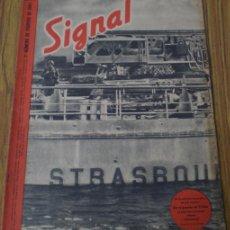 Militaria: REVISTA .. SIGNAL .. SP Nº 3 // 1º Nº DE FEBRERO 1943 .. EN ESPAÑOL. Lote 21485530