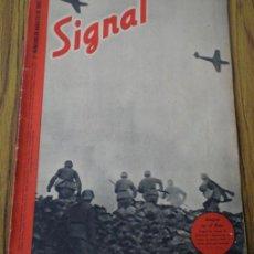 Militaria: REVISTA .. SIGNAL .. SP Nº 15 // 1º Nº DE AGOSTO 1942 .. EN ESPAÑOL. Lote 21485551