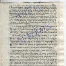 Militaria: DIARIO.BARCELONA.2-11-1835.CARLISMO.PRIMERA GUERRA CARLISTA.SANTOÑA.PANIZA.CARIÑENA.QUILEZ.ARGUELLES. Lote 21685485