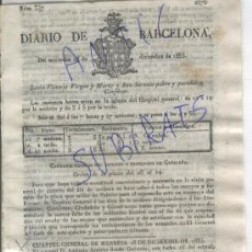 Militaria: DIARIO AÑO 1835 CARLISMO PRIMERA GUERRA CARLISTA EN TREMP GUISONA PONS CALAF TORA SANAHUJA. Lote 21700813