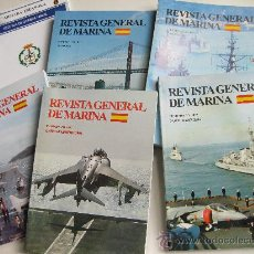 Militaria: LOTE DE REVISTAS - REVISTA GENERAL DE MARINA . Lote 22658355