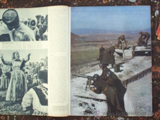 Militaria: SIGNAL N.16, SEGUNDO NUMERO DE AGOSTO DE 1943 , EN CASTELLANO - Foto 2 - 22709383