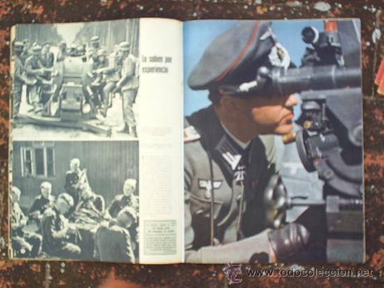 Militaria: SIGNAL N.16, SEGUNDO NUMERO DE AGOSTO DE 1943 , EN CASTELLANO - Foto 3 - 22709383