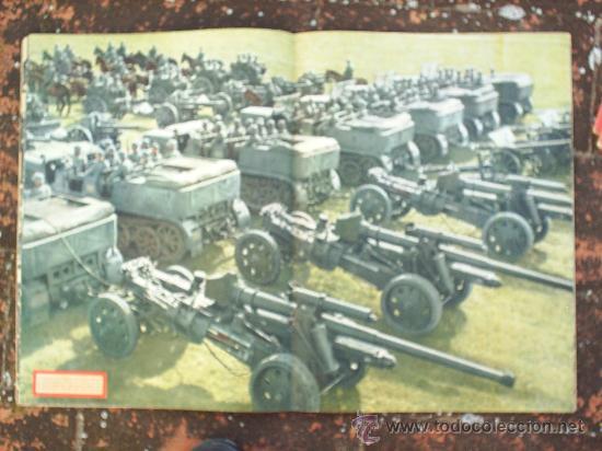 Militaria: SIGNAL N.16, SEGUNDO NUMERO DE AGOSTO DE 1943 , EN CASTELLANO - Foto 4 - 22709383