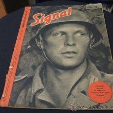 Militaria: REVISTA SIGNAL - II GUERRA MUNDIAL - NUMEROS 23/24 - DICIEMBRE 1942. Lote 22810290