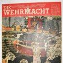 Militaria: DIE WEHRMACHT Nº 9 - 1944 EDICION AUSGABE-A PORTADAS EN COLOR, REVISTA ALEMANA II GUERRA MUNDIAL -. Lote 26616588