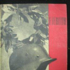 Militaria: REVISTA. EJÉRCITO. REVISTA ILUSTRADA DE LAS ARMAS Y SERVICIOS. NÚM. 25. FEBRERO 1942.. Lote 23983853