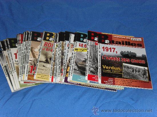 LOTE DE 25 REVISTAS BATALLES (Militar - Revistas y Periódicos Militares)