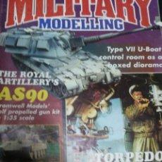 Militaria: REVISTA DE MODELISMO MILITAR. MILITARY MODELLING. GUERRA. EDICION INGLESA 1995. Lote 26464810