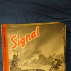 Militaria: ALEMANIA. III REICH. 2ª GUERRA MUNDIAL. REVISTA SIGNAL. TEXTO EN CASTELLANO. Nº 22. NOVIEMBRE 1941.. Lote 26747607