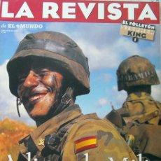 Militaria: LA REVISTA DE EL MUNDO, ADIOS A LA MILI, DESAPARECE EL SERVICIO MILITAR OBLIGATORIO-RECETAS, 1996. Lote 27043392