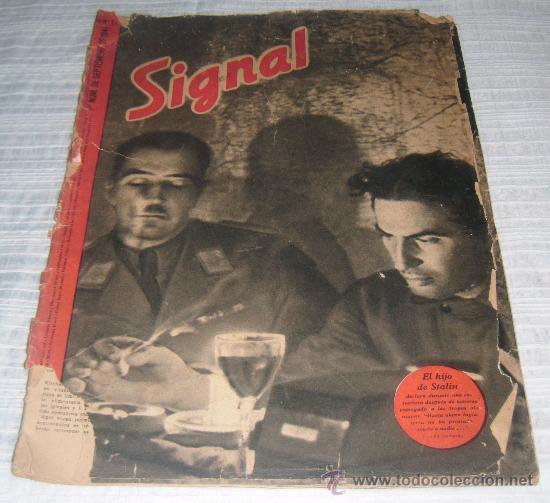 REVISTA SIGNAL 1º NUMERO DE SEPTIEMBRE DE 1941 (Militar - Revistas y Periódicos Militares)