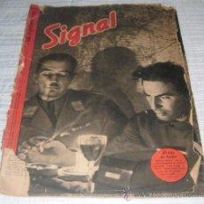 Militaria: REVISTA SIGNAL 1º NUMERO DE SEPTIEMBRE DE 1941. Lote 28162784