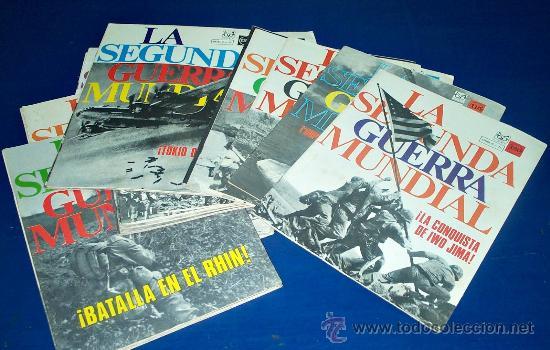 LOTE FASCICULOS SEGUNDA GUERRA MUNDIAL (Militar - Revistas y Periódicos Militares)