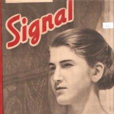 Militaria: REVISTA SIGNAL EDCION ESPAÑOLA 2 NUMERO ABRIL 1941. Lote 28531920