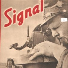 Militaria: REVISTA SIGNAL EDCION ESPAÑOLA 2 NUMERO MAYO 1942. Lote 28532003