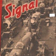 Militaria: REVISTA SIGNAL EDCION ESPAÑOLA 2 NUMERO FEBRERO 1943. Lote 28532108