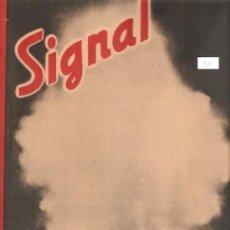 Militaria: REVISTA SIGNAL EDCION ESPAÑOLA 2 NUMERO OCTUBRE 1942. Lote 28532128