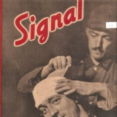 Militaria: REVISTA SIGNAL EDCION ESPAÑOLA 2 ABRIL 1942. Lote 28532203