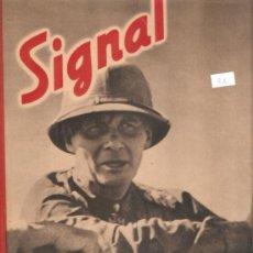 Militaria: REVISTA SIGNAL EDCION ESPAÑOLA 2 NUMERO MARZO 1942. Lote 28532356