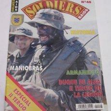 Militaria: SOLDIERS RAIDS Nº 48 - ESPECIAL II TERCIO DUQUE DE ALBA DE LA LEGIÓN - EXCELENTE. Lote 91119380