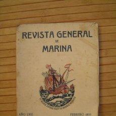 Militaria: REVISTA GENERAL DE LA MARINA , 1935. Lote 29087832