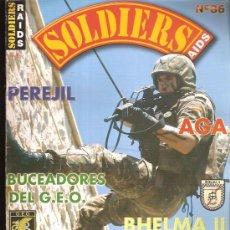 Militaria: SOLDIERS RAIDS 86. Lote 29132565