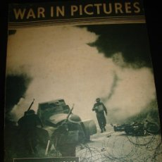 Militaria: WAR IN PICTURES, REVISTA INGLESA MILITAR, SEGUNDA GUERRA MUNDIAL. Lote 29431326