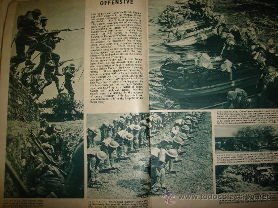 Militaria: WAR IN PICTURES, REVISTA INGLESA MILITAR, SEGUNDA GUERRA MUNDIAL - Foto 4 - 29431326