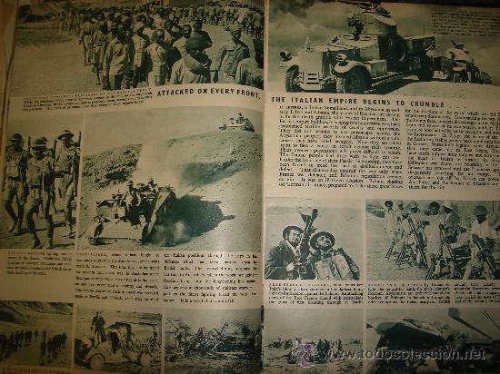 Militaria: WAR IN PICTURES, REVISTA INGLESA MILITAR, SEGUNDA GUERRA MUNDIAL - Foto 8 - 29431326