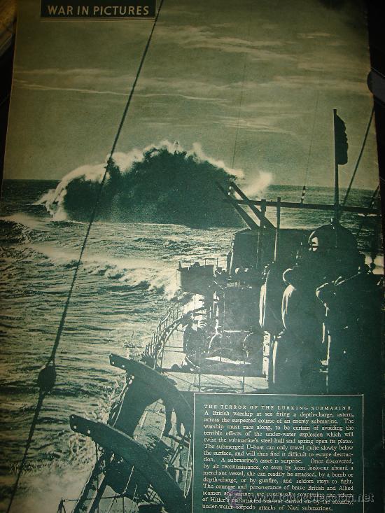 Militaria: WAR IN PICTURES, REVISTA INGLESA MILITAR, SEGUNDA GUERRA MUNDIAL - Foto 6 - 29431326