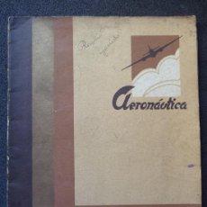 Militaria: (JX-05)REVISTA, AERONAUTICA , FEBRERO 1938, GUERRA CIVIL, 40 PAG.. Lote 29818068