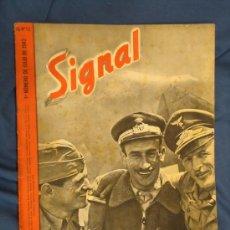 Militaria: ALEMANIA III REICH. REVISTA SIGNAL. VERSIÓN EN CASTELLANO. Nº 13 JULIO 1942.. Lote 29833715