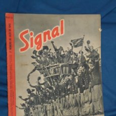 Militaria: ALEMANIA III REICH. REVISTA SIGNAL. VERSIÓN EN CASTELLANO. Nº 13 JULIO 1943. . Lote 29834620