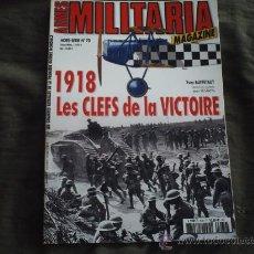 Militaria: ARMES MILITARIA Nº70. Lote 30062714