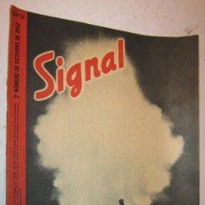 Militaria: 1942 REVISTA SIGNAL - PROPAGANDA DEL EJERCITO ALEMAN - EN CASTELLANO. Lote 30303307