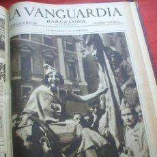 Militaria: LA VANGUARDIA - 150 NOTAS GRAFICAS - 1930-31. Lote 30902673