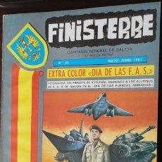 Militaria: REVISTA FINISTERRE Nº 42, AÑO 1981. Lote 31179710