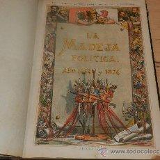 Militaria: (M-3.6) LA MADEJA POLITICA AÑO 1873 Y 1874 - EL LIO., COMPLETA !!! 50 NUMEROS.,CARLISMO. Lote 31281810