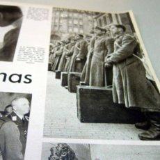 Militaria: DIVISION AZUL, PAGINA, RECORTE, REVISTA DER ADLER, COMPAÑEROS DE ARMAS, 1940S. Lote 31315258