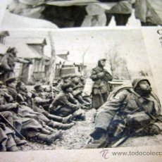 Militaria: DIVISION AZUL, PAGINA, RECORTE, REVISTA DER ADLER, VENCEDORES EN LUCHAS, DEL FRENTE ORIENTAL, 1940S. Lote 31315542