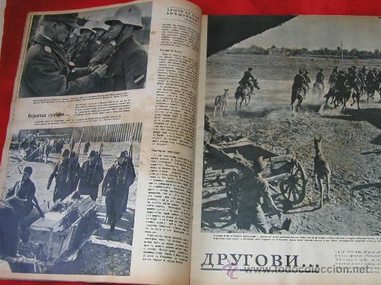 Militaria: Signal nº 24 1943 Ed. S. Revista Alemana, ed. Serbia SUPER RARO OCASION NºEspecial Tropas del ESTE - Foto 2 - 31737441