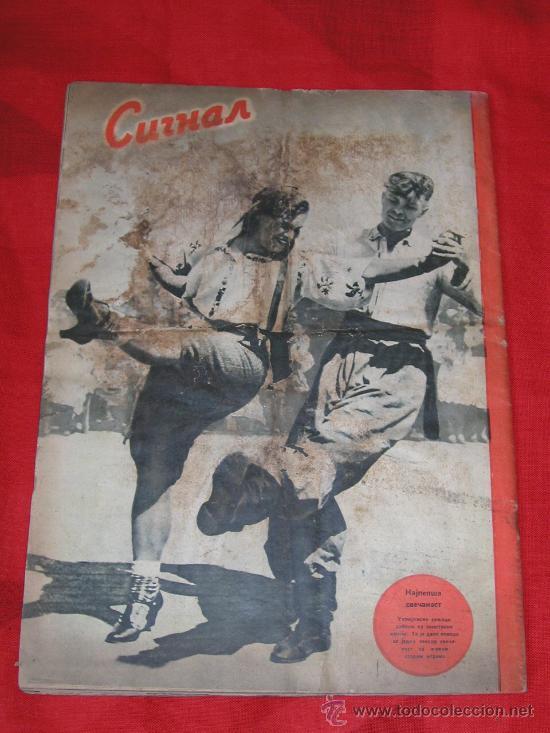 Militaria: Signal nº 24 1943 Ed. S. Revista Alemana, ed. Serbia SUPER RARO OCASION NºEspecial Tropas del ESTE - Foto 4 - 31737441