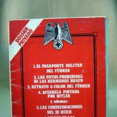Militaria: REVISTA, SUPLEMENTO, BIOGRAFIA FOTOGRAFICA, DOSSIER PRIVADO, PASAPORTE MILITAR DEL FUHRER, HITLER. Lote 32001887