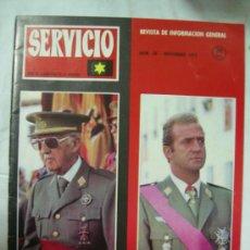 Militaria: REVISTA SEVICIO POR LA LAUREADA DE LA VERDAD - Nº 38 NOV. 1975 - HECHOS H. MUERTE DE FRANCO 20 NOV.. Lote 32238329