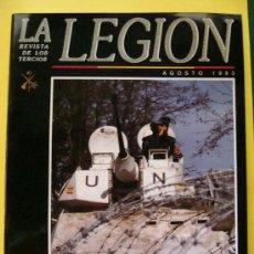Militaria: REVISTA LEGIONARIA DE LOS TERCIOS. LEGIÓN ESPAÑOLA AGOSTO 1993 BOEL MALEG, MELILLA, CEUTA. . Lote 32362761