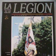 Militaria: REVISTA LEGIONARIA DE LOS TERCIOS. LEGIÓN ESPAÑOLA DICIEMBRE 1996 BOEL MALEG, MELILLA, CEUTA. . Lote 32388938